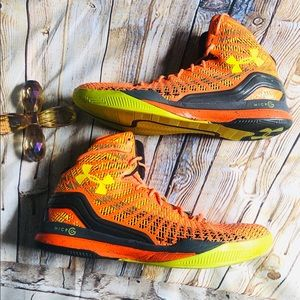 UA Clutchfit Drive 2 PE Yellow and Orange 13